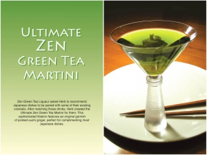 Zen Green Tea Martini